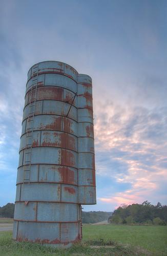 sunset sky clouds rural landscape nc nikon rust raw decay north gimp raleigh silo carolina pittsboro lightroom 18105 d90 photomatix