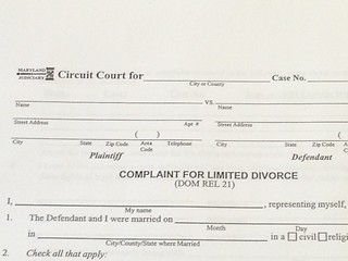 Complaint For Limited Divorce Frederick Md | by Child Custody in Frederick Maryland