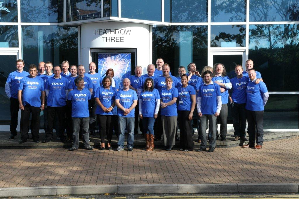 Tyco DayOne Heathrow, UK Team | Tyco Security Products | Flickr