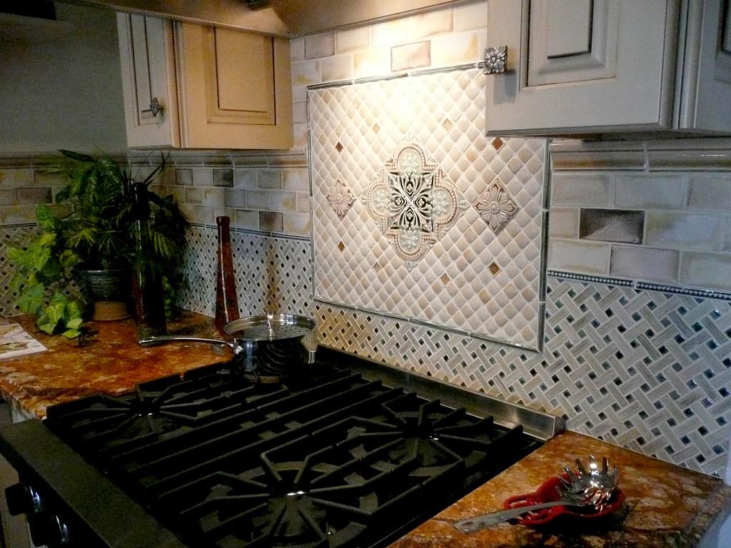 - Kitchen Backsplash With Mini Basketweave 3x6 Field Tile In… Flickr