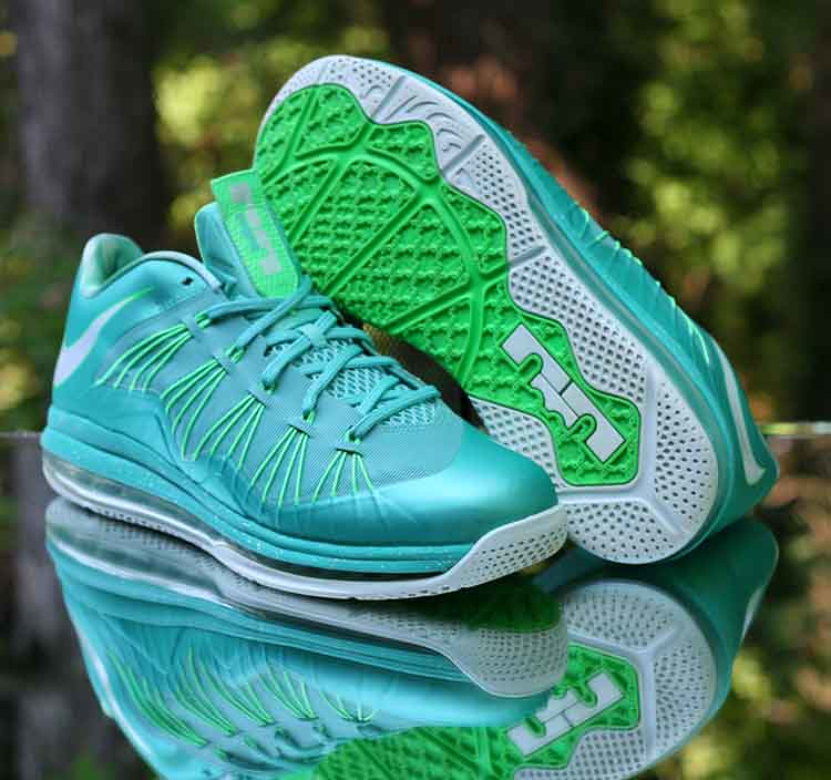 new arrival 80a89 26c63 ... Nike Air Max LeBron 10 X Low Easter Crystal Mint Green 579765-300 Men s  Size