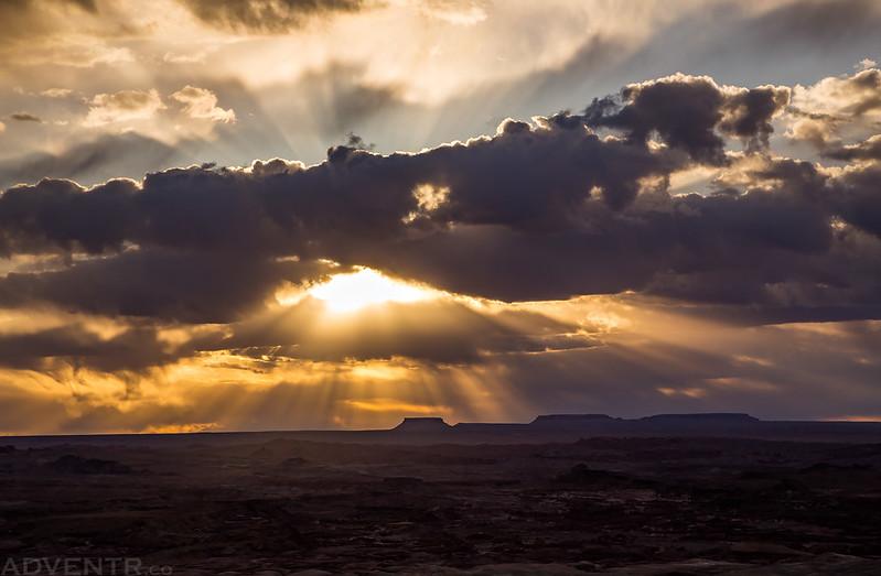 Flat Tops Sun Rays