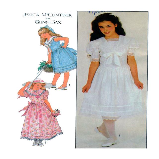 Simplicity 8703 child dress pattern