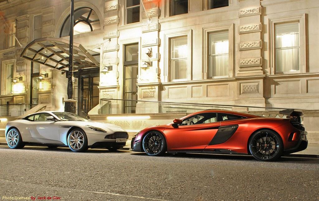 Aston Martin Db11 Vs Mclaren Mso Hs The British Scene In Flickr