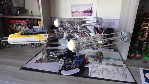 Lego UCS Y-Wing Starfighter   by BrickMark-I