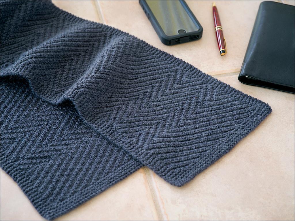 Lamberhurst Scarf Knitting Pattern Man S Reversible Knitte Flickr