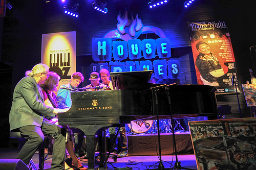 Finale Round Robin at WWOZ's 30th Annual Piano Night - April 30, 2018. Photo by Michael E. McAndrew Photography.