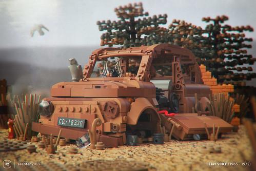 Rusted FIAT 500   by gabriele.zannotti