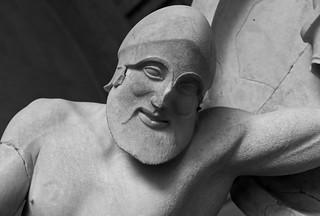 The Temple of Aegina, East Pediment - Il Tempio di Egina, Frontone Est  VIII | by Egisto Sani