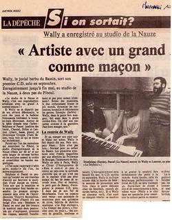papier 1er album wally-La nauze | by lewally12