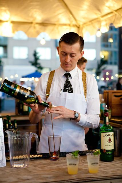 Mixologist Maxwell Britten (Maison Premiere, Brooklyn) for Jameson Irish Whiskey