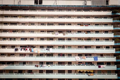 HDB flats   by laRuth