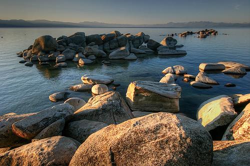 california usa sunrise laketahoe sierranevada