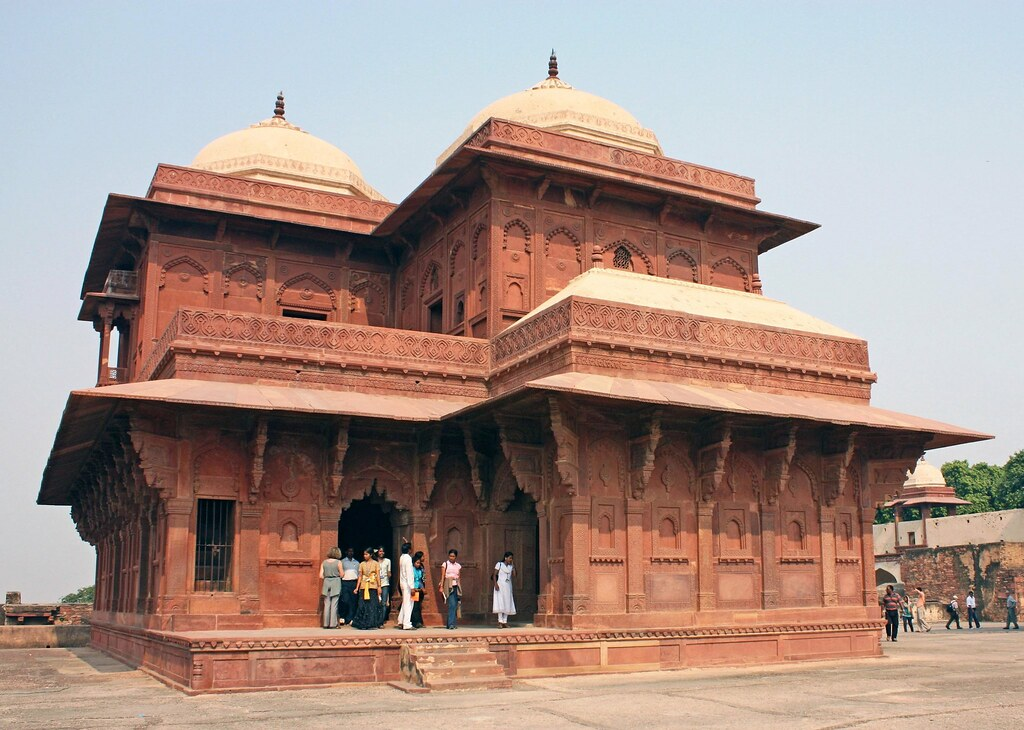 Image result for fatehpur sikri beerbal palace