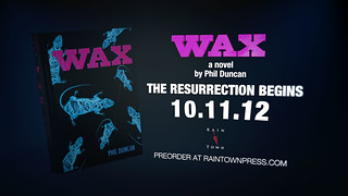 WAX - Book Trailer | by kmog