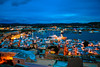 El Puerto y la Ciudad  de Ibiza  despertando by ibzsierra