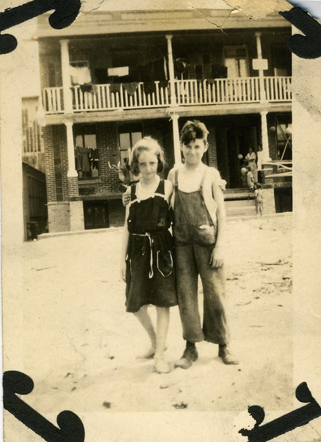 Eleanor McAndrews and Buddy Murphy - circa 1917