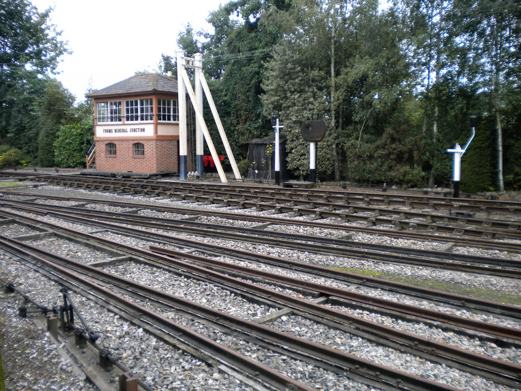 Brunel mixed gauge track | Mixed Brunel broad gauge (7' 1/4