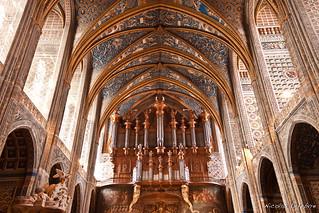Intérieur de la Sainte-Cécile cathedrale, Albi, Midi-Pyrénées, France | by Nicolas Lefebvre Photographe