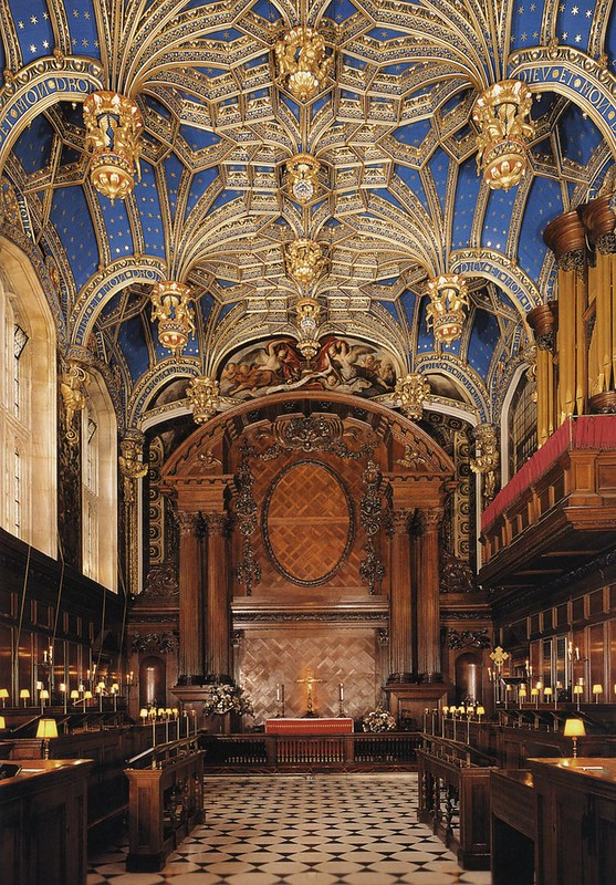 Tudor.Hampton Court.Royal chapel