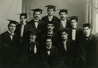 Pomona's first graduating class, the Class of 1894