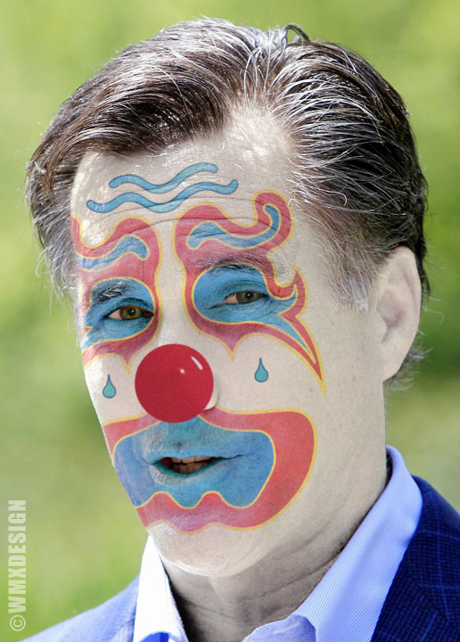 Mitt Romney :: Offshore Republican Clown