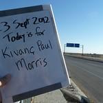 Today is for Kivanc Paul Morris