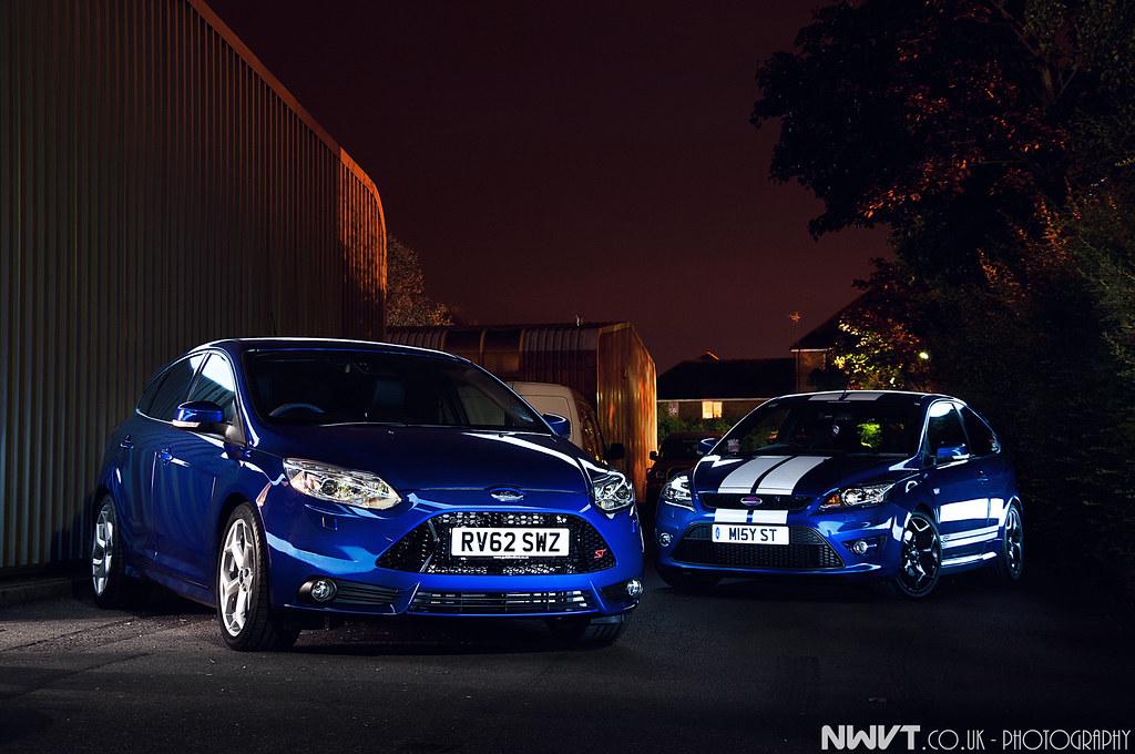 2013 Ford Focus St 5 Door Hatchback In Blue Light Painted Flickr