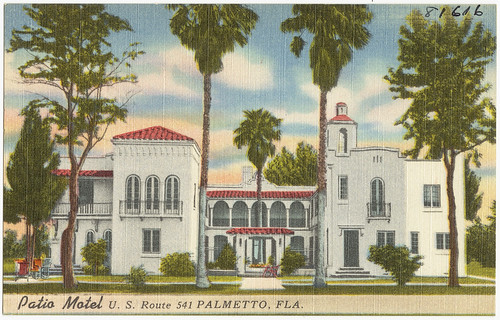 Patio Motel, U.S. Route 541, Palmetto, Florida