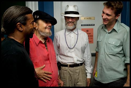 Programming director Dwayne Breashears, Dr. John, Russell Shelton