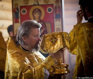 Освящение храма в Кремле 230