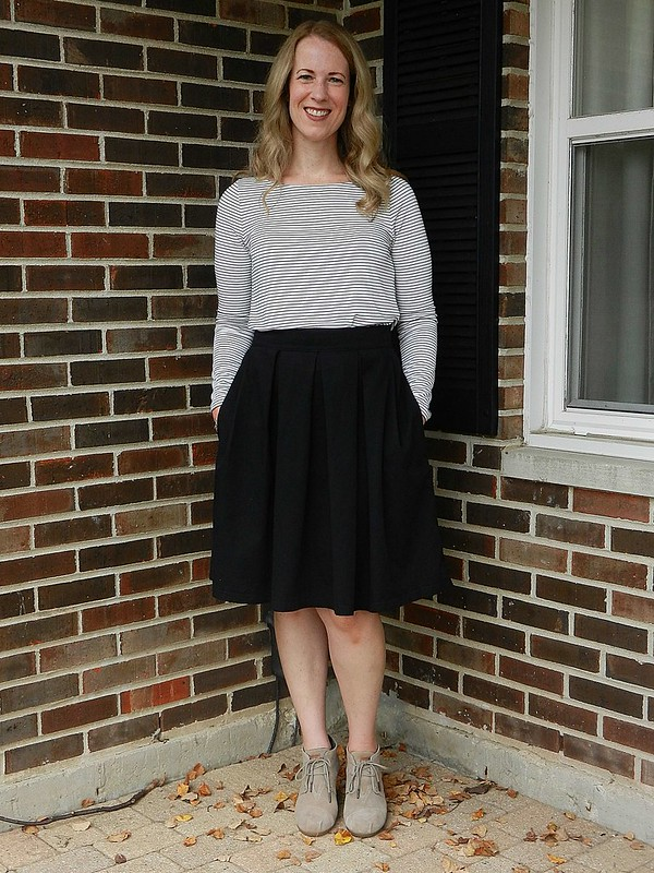Striped Tee and Skirt 3