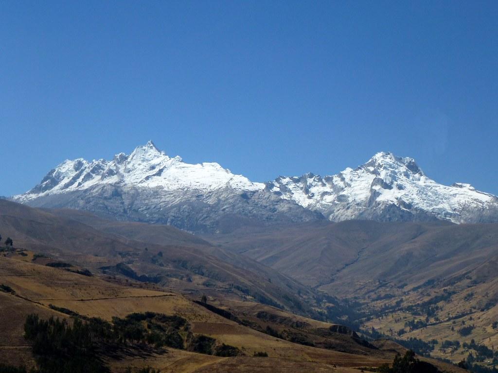 Cordillera Blanca around Huaraz