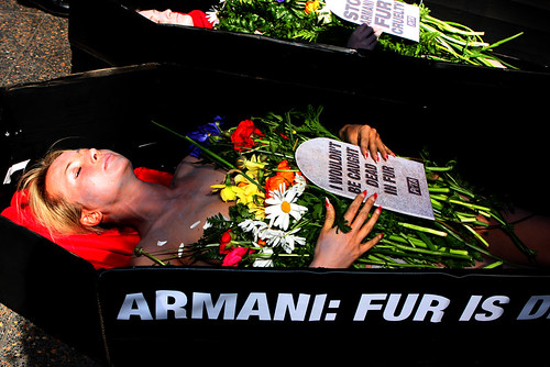 Peta Armani Fur is Dead | by Eva Rinaldi Celebrity and Live Music Photographer