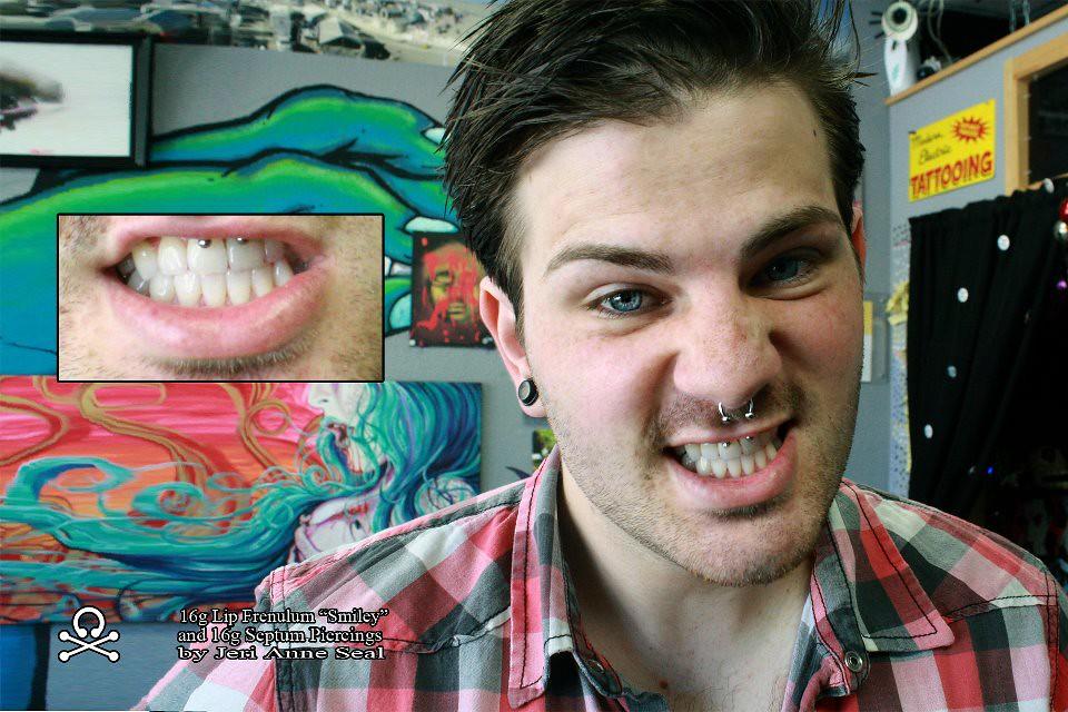 Septum And Smiley Piercing Jeri Anne Seal Flickr