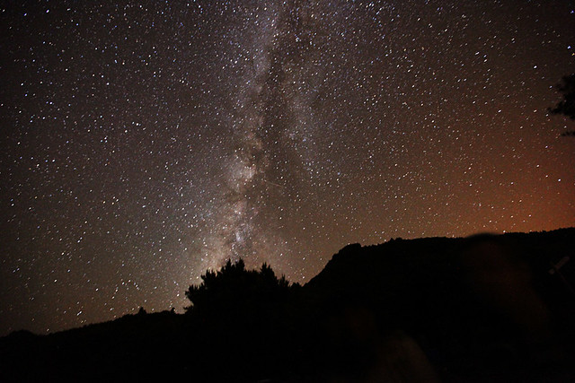 The Milky Way from the Canary Islands