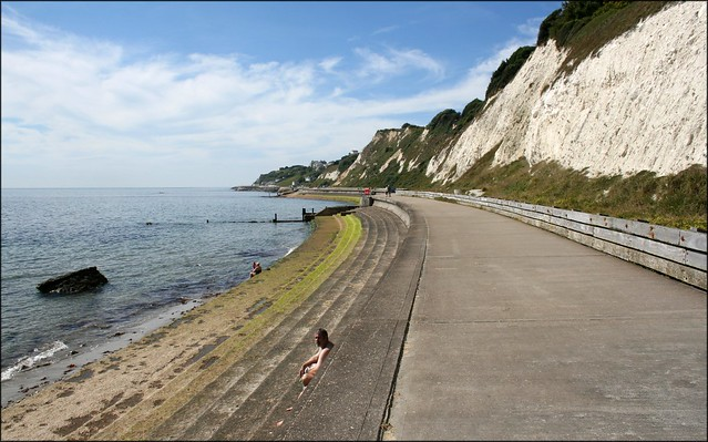 The coast east of Ventnor, Isle of Wight