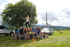 Tevling - menneskelig pyramide