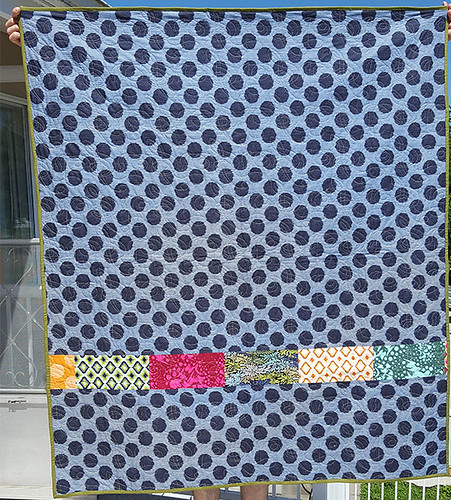 Twizzle Quilt Back | by Maggie Muggins Designs