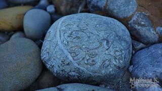 Stein mit Einschlüssen