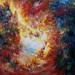 Dalla serie Porte Celesti, 03, senza titolo, 2012, 190x150 cm, olio su tela