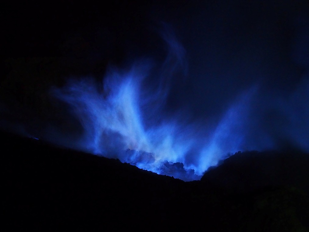 Blue Fire!