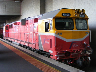 V Line N466 Southern Cross 03.03.10 | by Andys Trains