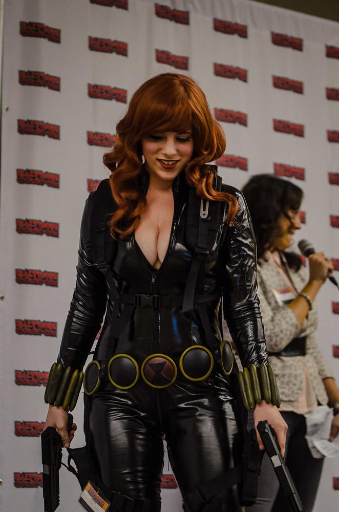 Baltimore Comic Con 2012 Costume Contest Black Widow Flickr