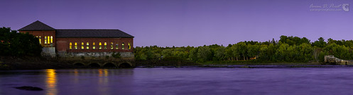 sunset panorama purple bangor penobscotriver bangorwaterworks