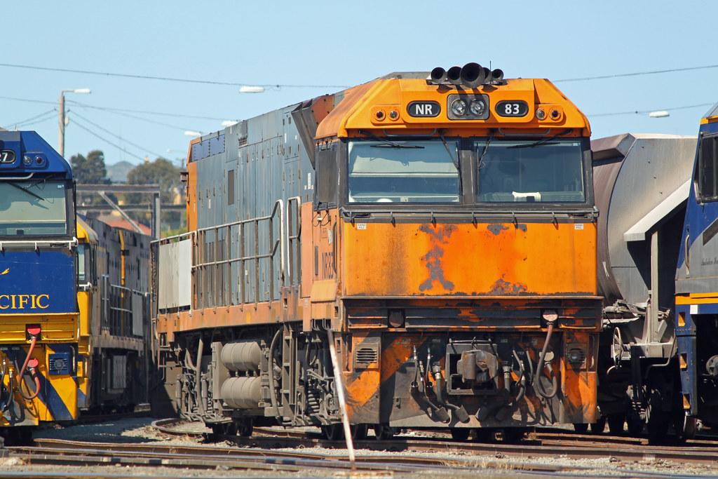 NR83 Port Kembla yard by Thomas