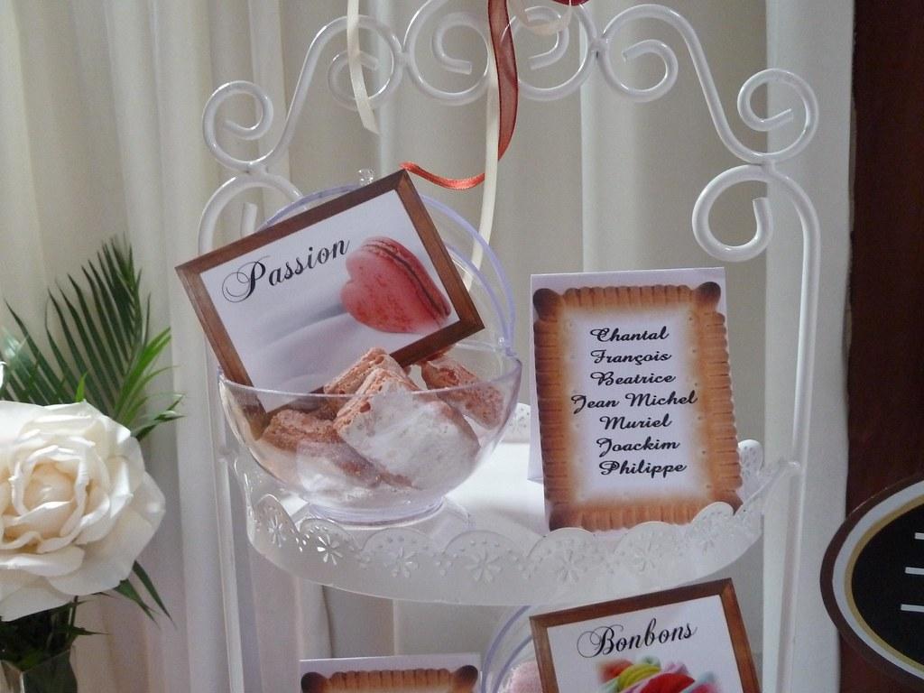 decorationmariage theme gourmandise