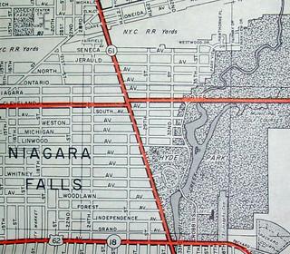 Niagara Falls NY  (March 1963)