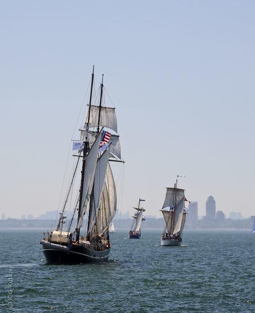 Tall Ships set Sail.