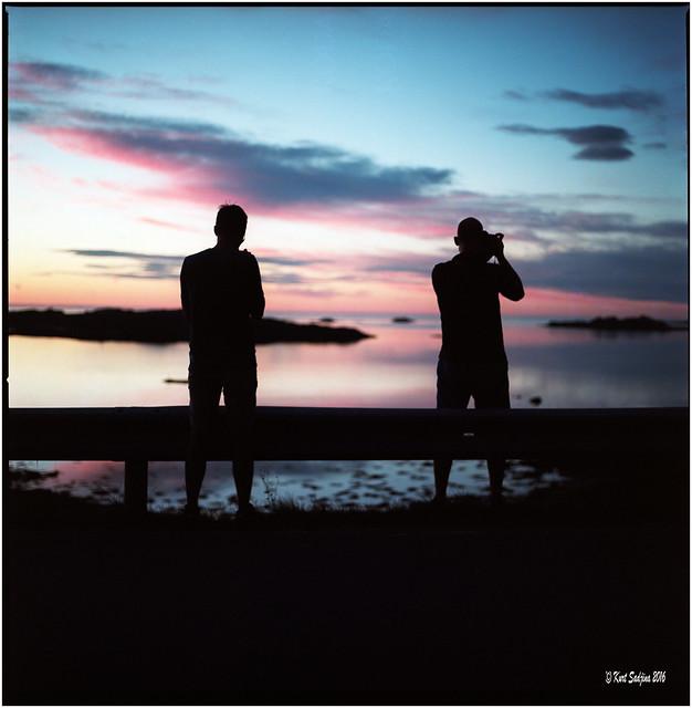 Incredible sun set_Lofoten_Hass